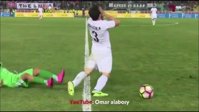 Al-Zawraa's Player With Hilarious dive in Iraqi League vs Al-Shorta!