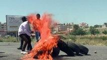 Heurts lors d'une manifestation en Cisjordanie