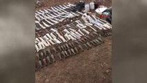 Şırnak - Kato Dağı'nda 'Atikler' PKK'ya Ait Mağarada 108 Kaleşnikof Piyade Tüfeği Ele Geçirdi 2