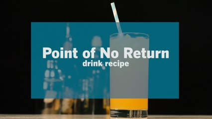 Point of No Return Rum Cocktail Recipe