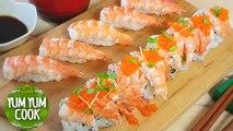 Shrimp Nigiri Sushi Roll | How to Make Sushi at Home