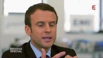 """Emmanuel Macron compare la primaire de la gauche et de la droite à """"un concours de vachettes"""""""