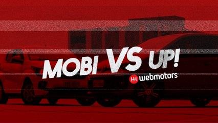 Fiat Mobi x Volkswagen up! - Webmotors