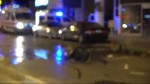 Antalya Sinir Krizi Geçiren Kadın Ofis Eşyalarını Balkondan Attı
