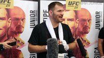 Stipe Miocic 'worked too hard' to lose belt at UFC 211
