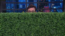 Sean Spicer Gets Mocked By Late-Night Hosts for Hiding in the Bushes | THR News