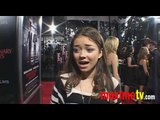 SARAH HYLAND Interview at Extraordinary Measures Premiere