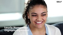 Laurie Hernandez - Interview: How Her Mother Support Helped Her (04/19/17)