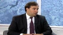 Presidente da Câmara dos Deputados concede entrevista exclusiva ao SBT - Parte 1