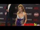 SAVANNA SAMSON Arriving at 2010 AVN AWARDS SHOW Las Vegas
