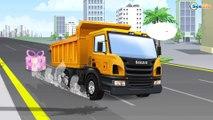 El Pequeño Camión - Carritos para niños - Pequeño Carros - Coches y el lavado de autos