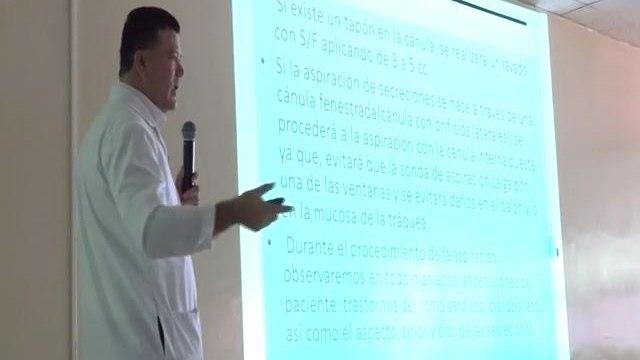 Capacitan a enfermeras del Mario Rivas