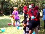 video famili gatering mutiara bunda rebutan balon 11 mei 2017