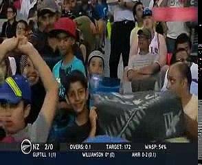 M.Amir bowling first over international cricket