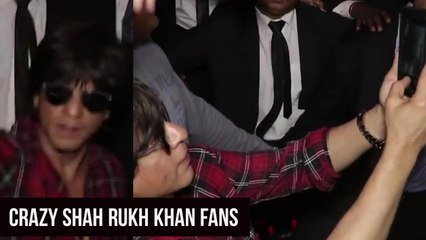 Shah Rukh Khan Fulfills Crazy Female Fan's Day | Watch This Video