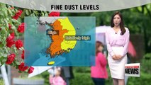 Yellow dust covers western Korea, rain for Jeju and southern regions
