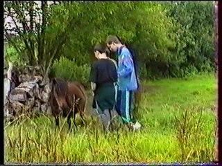 IME DE TRELEAU - PONTIVY - Camp roulotte - Juillet 1993