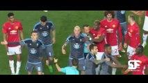 Bailly & Roncaglia Red Card Scenes ● Manchester United Vs Celta Vigo Crazy Fights