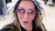 """""""Le Journal Intime de Loana"""" : Loana chez le coiffeur, elle dévoile sa nouvelle couleur ! (EXCLU VIDEO)"""