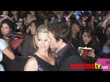 PETER FACINELLI and JENNIE GARTH at NEW MOON Premiere Arrivals