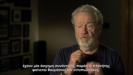 Ridley Scott talks about Alien: Covenant