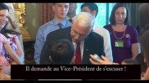 Un enfant exige en direct des excuses du vice-président des Etats-Unis (vidéo)