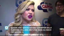 'American Idol' champ Kelly Clarkson to join 'The Voice' as coach