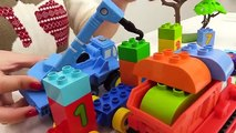 BOB the Builder Can't Count! TOY TRAINS Number Game with LEGO C