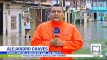ALERTA EN CALI POR EL NIVEL DEL RIO CAUCA