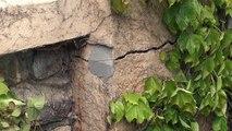 Hautes-Alpes : maisons fissurées et murs qui s'affaissent dans le quartier de la Belotte à Embrun !