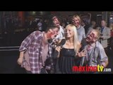 ZOMBIELAND Premiere Arrivals Emma Stone & Woody Harrelson