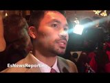 "MANNY PACQUIAO SHUTSDOWN CANELO FIGHT RUMORS!! ADMITS HE'S TOO ""BIG"" RECALLS MARGARITO FIGHT"