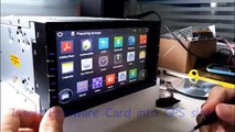 Pumpkin KD Android Headunit Recovery mode update instruction - video