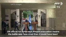 Aleppo evacuation means battle less cruel_UN[1]