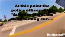 MOTORCYCLE VS COPS EXCITING POLICE CHASING  DIRT & SPORT BIKES