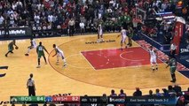 Final 2 minutes of Boston Celtics vs Washington Wizards