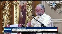 Vladimir Putin apare pe fresca unei catedrale din Ucraina, în scena Judecății de Apoi