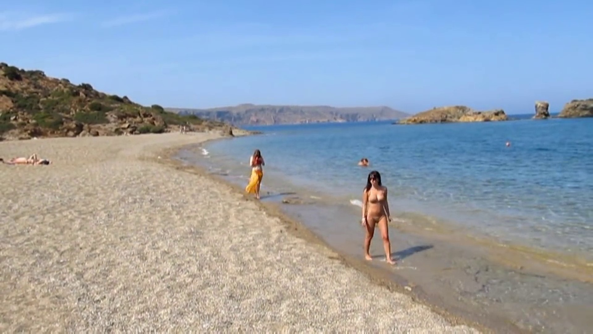 Vai palm beach Crete Greece Пальмовый пляж Вай Греция Крит