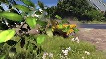 BeamNG.drive - Pothole Speedin  and Trucks Crashes