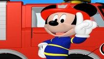 Topolino disney italiano, Topolino pompieri, Camion dei pompieri