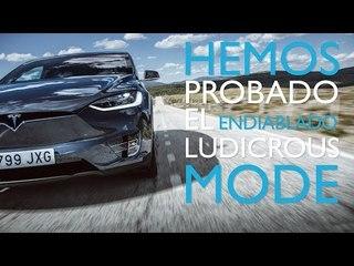 Tesla Model X: Ludicrous mode   Diariomotor