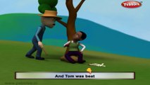 Tom Tom The Pipers Son | Baby songs | 3d animated poems for children | Nursery rhyme with lyrics | Nursery poems for kids | Kids poem | Funny poems for kids | Poems for kids with lyrics |