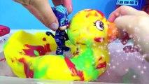 PJ MASKS Tub Bath Tnger Paint Soap Colors, Giant Rubber Duck Superhero IRL Toy Surprise _ T