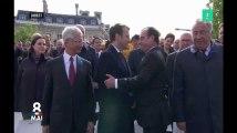 Avant l'investiture du nouveau président, ce que signifient les gestes entre Hollande et Macron