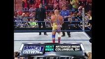 Kurt Angle & Chris Benoit vs. Edge & Rey Mysterio- SmackDown, Nov. 7, 2002