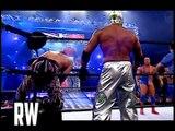 Chris Benoit & Kurt Angle vs Edge & Rey Mysterio (WWE No Mercy 2002) - Highlights