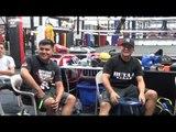 pita diaz-mcgregor was like trinidad vs vargas - EsNews Boxing