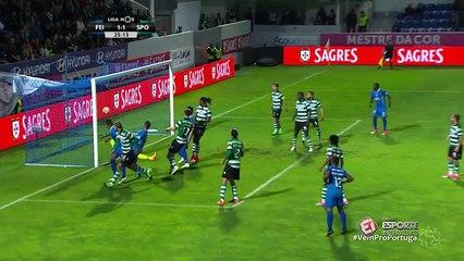 Assista aos melhores momentos de Feirense 2 x 1 Sporting