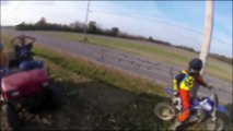 STUPID, CRAZY AND ANLE vs BIKERS - EXTREME ROAD RAGE COM