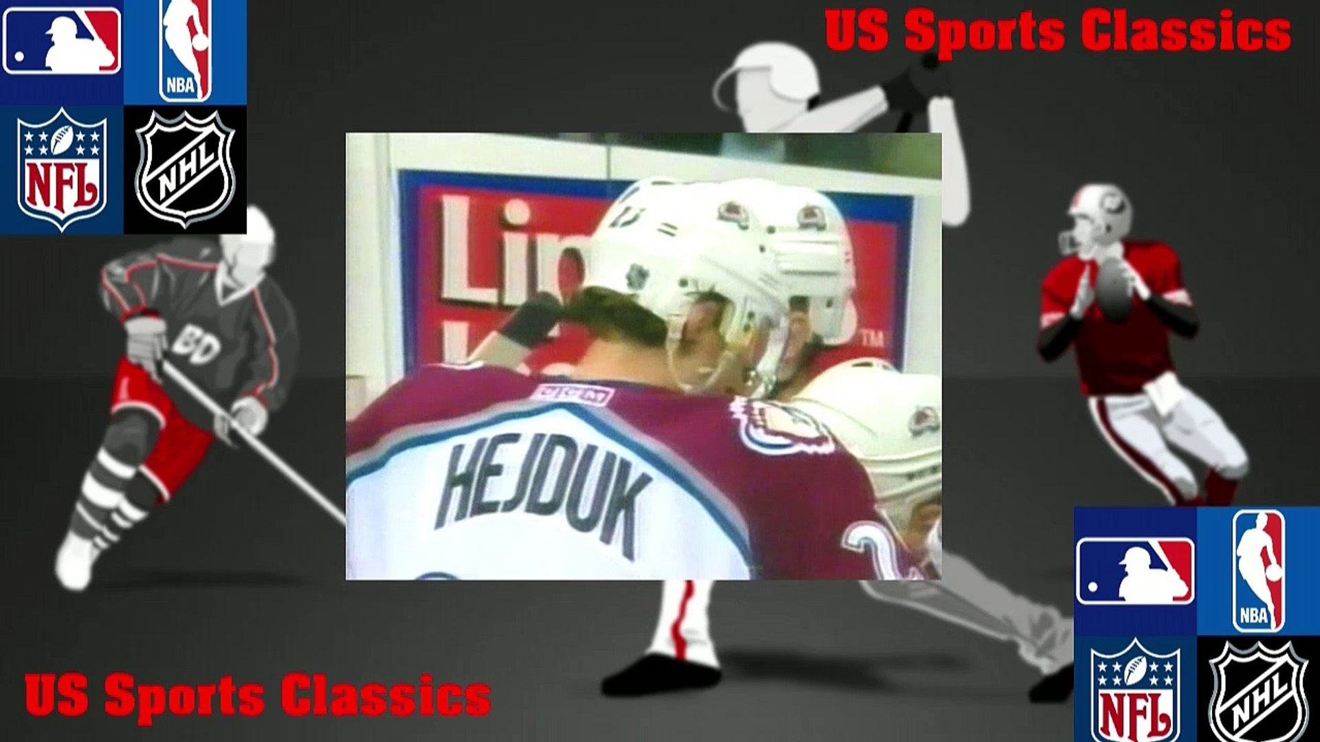 NHL 2001 Stanley Cup Final G1 - New Jersey Devils vs Colorado Avalanche  2001-05-26